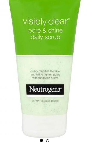 Neutrogena -  Neutrogena Visibly Clear Pore & Shine Daily Scrub